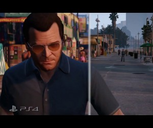 grand theft auto V ps3 ps4 comparison