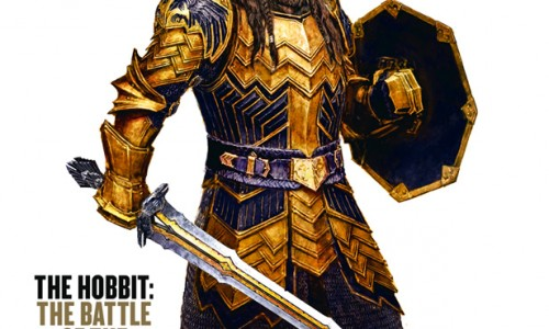 Here's Thorin Oakenshield's fancy armor for The Hobbit: The Battle of the Five Armies