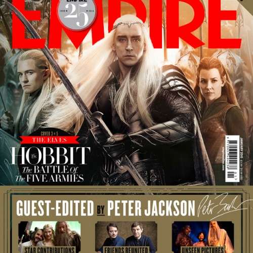 The Hobbit: The Battle of the Five Armies gets 3 new Empire covers