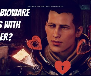 how bioware deals with gender
