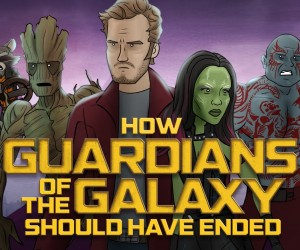 how guardians of the galaxy ended