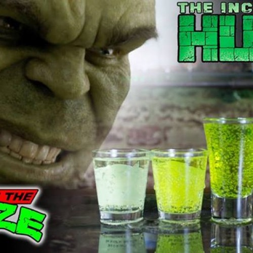 Impress your friends with the color-changing Hulk drink