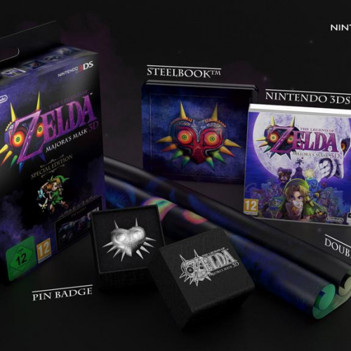 The Legend of Zelda: Majora's Mask 3D Special Edition headed to Europe
