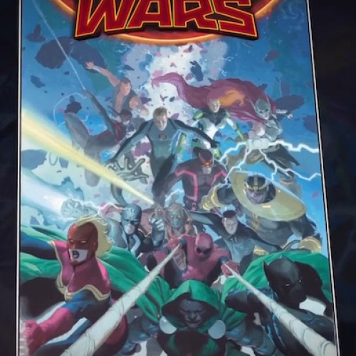 Marvel reveals Secret Wars 2015 variant cover
