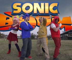 sonic book parkour song