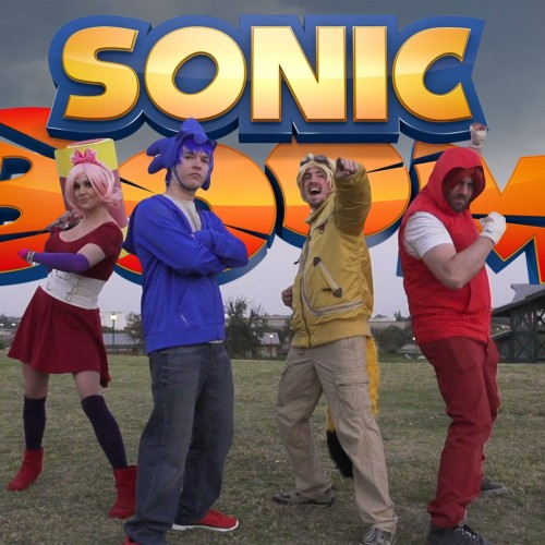 Sonic theme gets sung plus parkour