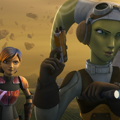 Two clips for Star Wars Rebels 'Out of Darkness'