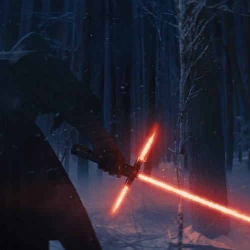 J.J. Abrams comments on the controversy over the Star Wars crossguard lightsaber