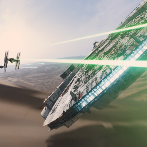 High-res screenshots of the Star Wars: The Force Awakens teaser trailer