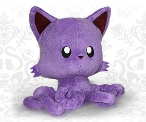 tentacle kitty purple