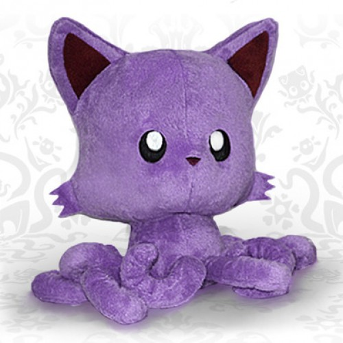 Want a uniquely colored Tentacle Kitty? Help support the Kickstarter