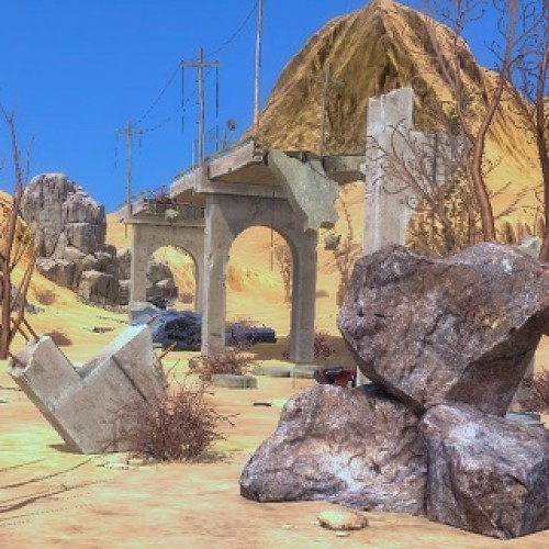 The Skies to be a big MMORPG post-apocalyptic shooter