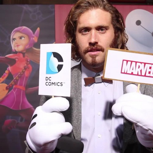 Disney's Big Hero 6 red carpet: Testing the celebs on their Marvel and DC knowledge