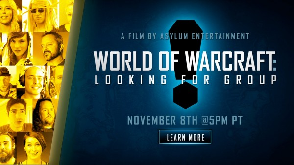 world of warcraft documentary looking for group