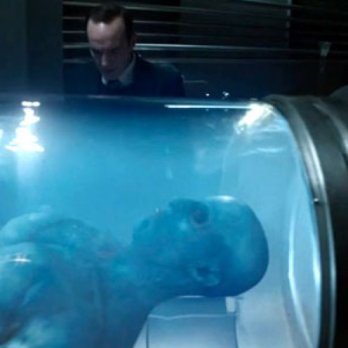 The mysterious alien creature from Agents of S.H.I.E.L.D. is revealed to be…
