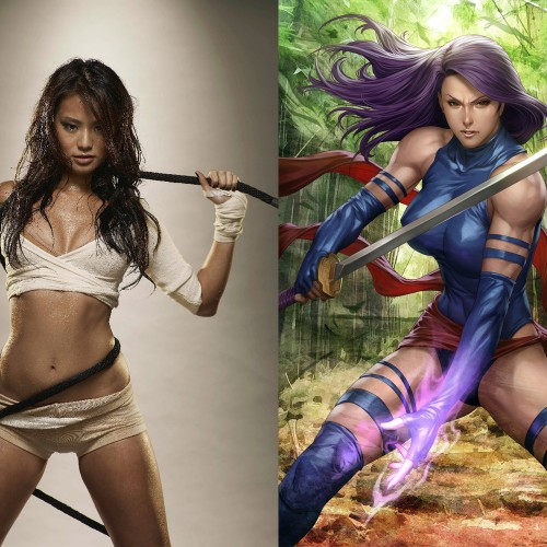 Big Hero 6's Jamie Chung is interested in playing Psylocke in an X-Men film