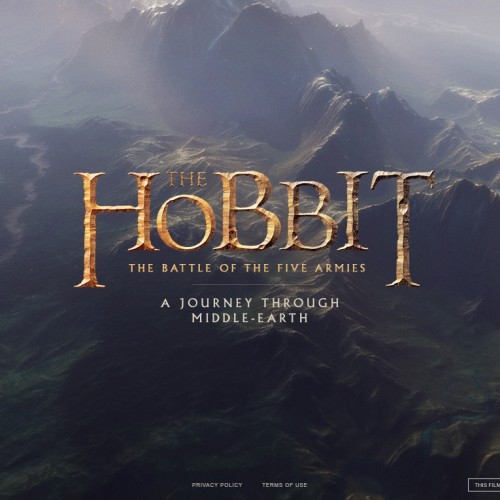 The Hobbit: The Battle of the Five Armies browser experience takes you to Middle-earth