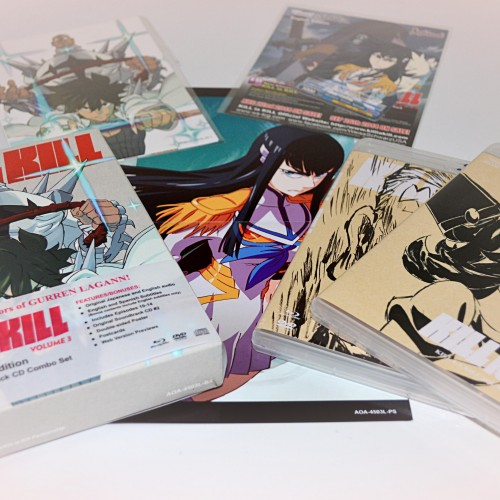 Kill la Kill Volume 3 Blu-ray review
