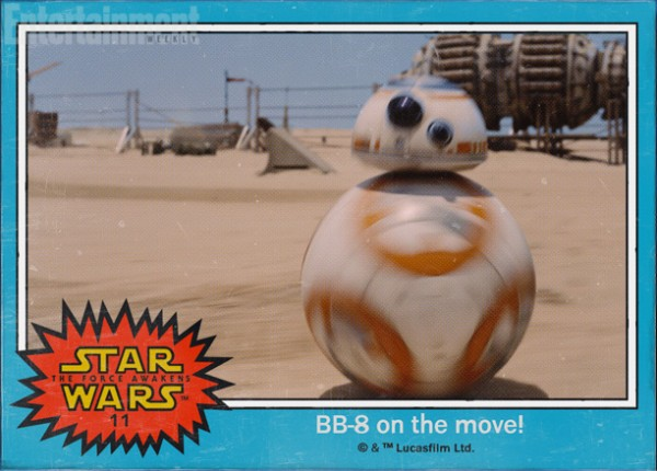 Star Wars Force awakens names bb8