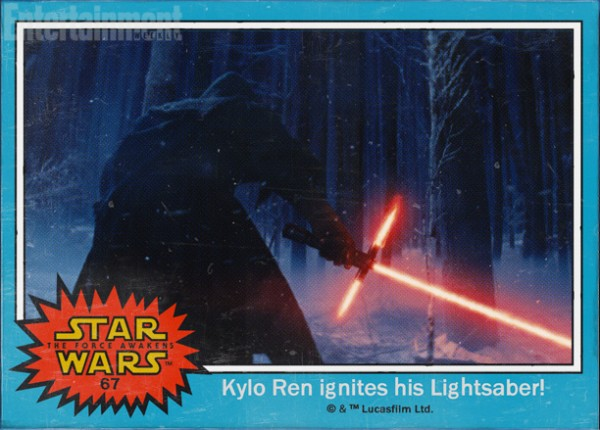 Star Wars Force awakens names kylo ren