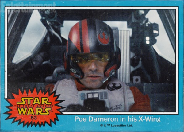 Star Wars Force awakens names poe dameron