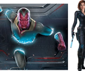 Vision avengers age of ultron black widow