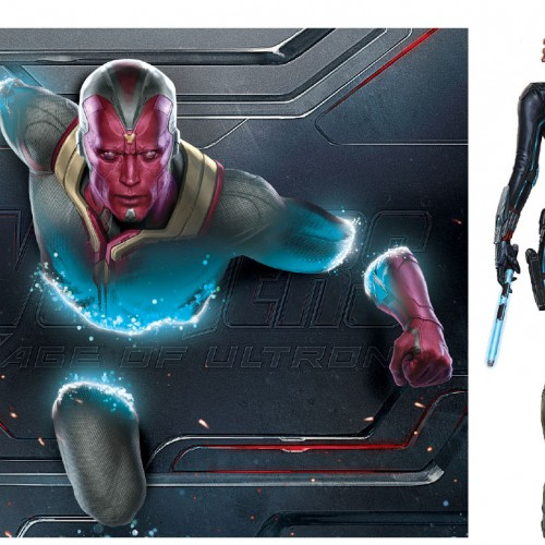 Vision and Ultron promo art and background revealed for Avengers: Age of Ultron