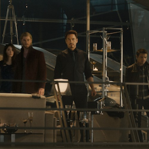 Avengers: Age of Ultron party scene photo