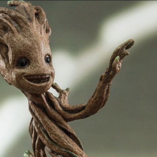Baby Groot gets an accurate Hot Toy 1/4th collectible