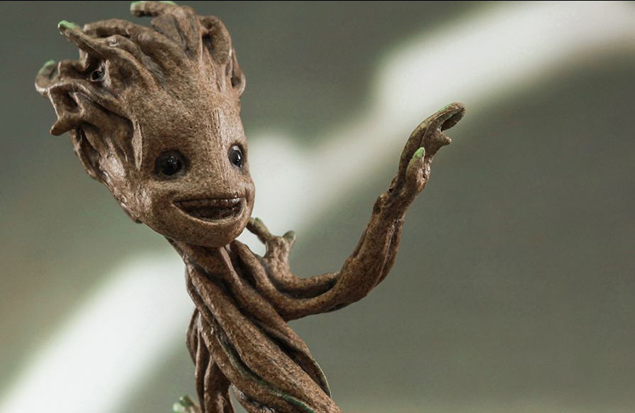 Baby Groot gets an accurate Hot Toy 1/4th collectible  Nerd Reactor