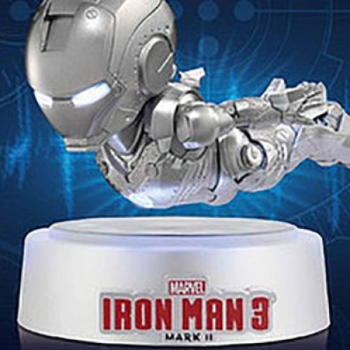 This cute Iron Man figure can 'fly'