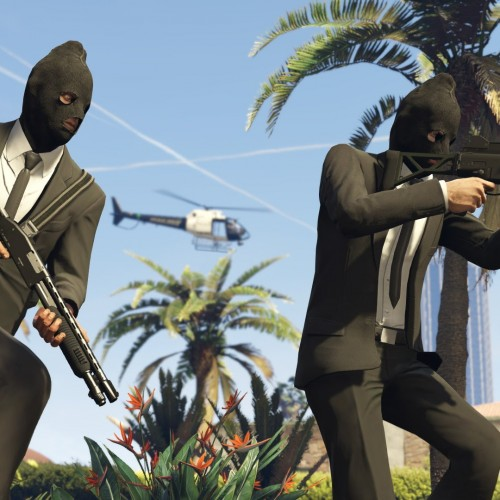 Grand Theft Auto V gets an Online Heists trailer