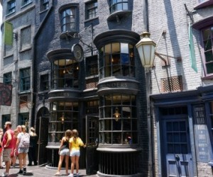 Ollivander's Wand Shop at the Wizarding World of Harry Potter - Diagon Alley.