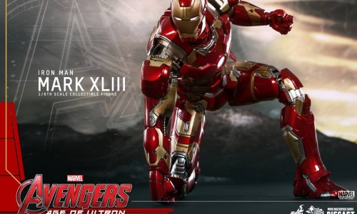Detailed look at Iron Man's Avengers: Age of Ultron suit from Hot Toys