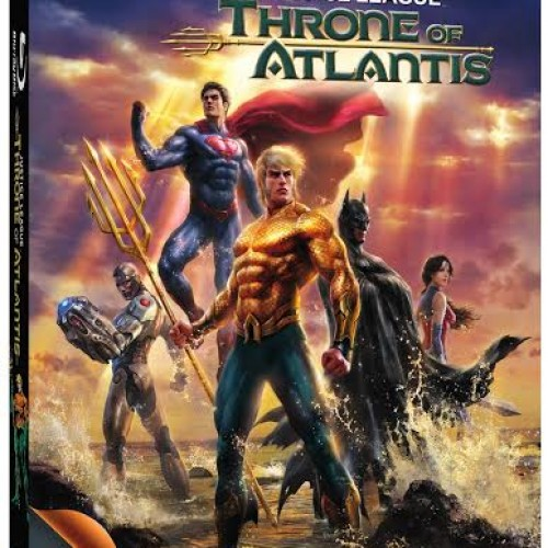 Justice League: Throne of Atlantis arrives on Blu-ray and DVD January 27, 2015