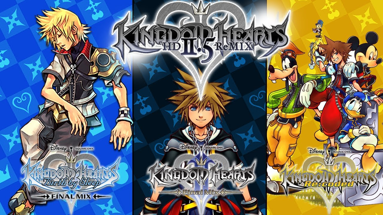 Kingdom Hearts Hd 2 5 Remix Gets An E3 Trailer And A Release Date