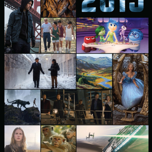 The Disney movies of 2015 (includes Marvel and Lucasfilm)