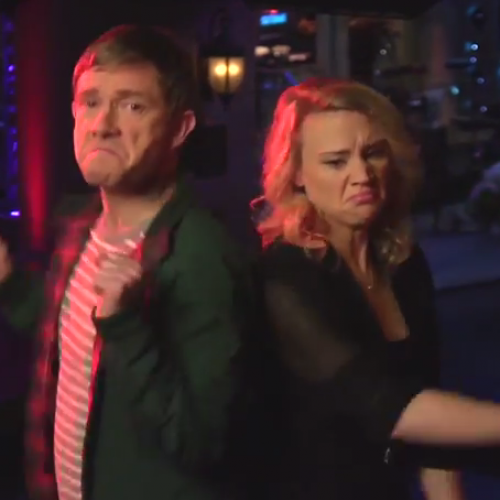 Martin Freeman hosts SNL this weekend – Check out his promos!