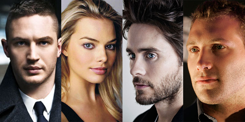 suicide squad margot robbie jared leto tom hardy jai courtney