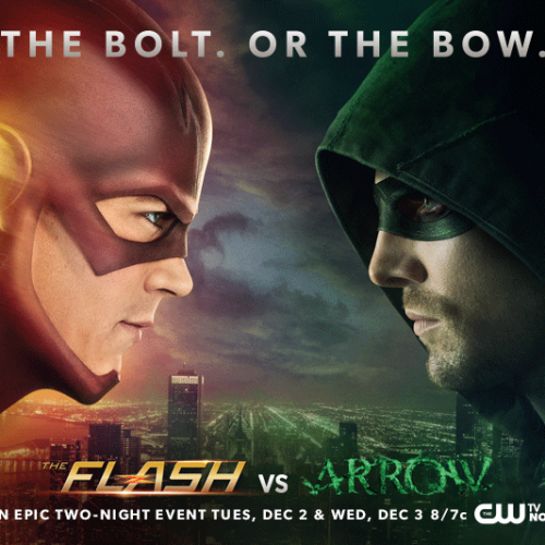 Check out the first clip from tonight's Arrow vs. Flash episode