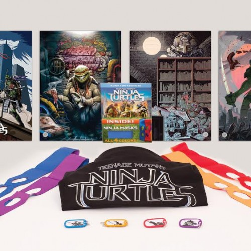Contest: Teenage Mutant Ninja Turtles Blu-ray Prize Package Giveaway