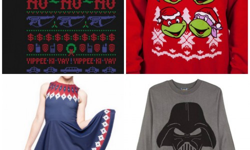 Top Ten Holiday Nerdy Sweaters, plus Ugly Sweater Event!
