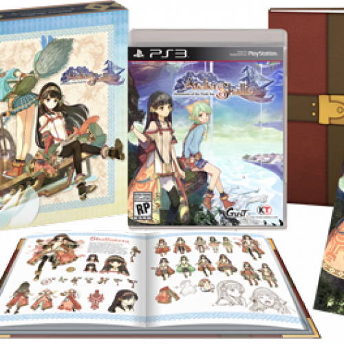 NIS America releasing Atelier Shallie: Alchemists of the Dusk Sea Limited Edition