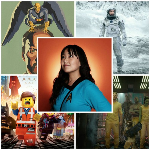 Laura's Top 10 Geeky Movies of 2014