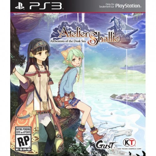 Watch the newest trailer for Atelier Shallie ~Alchemists of the Dusk Sea~