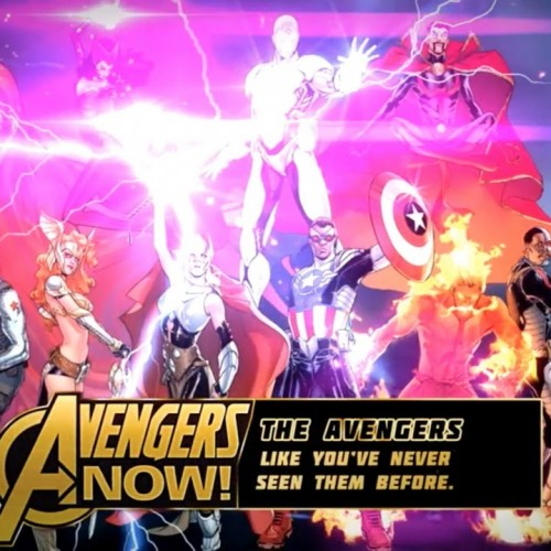 Avengers NOW! trailer is here