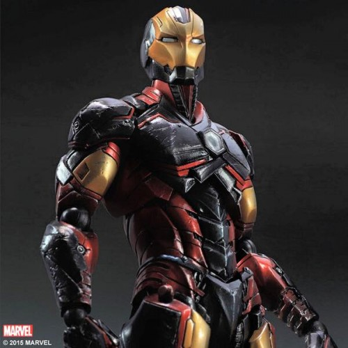 Iron Man is looking unique with Square Enix's Play Arts Kai Variant figure