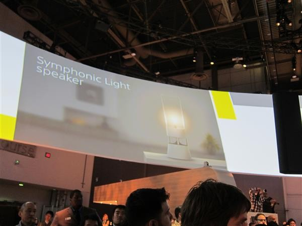 CES Sony Symphonic Light