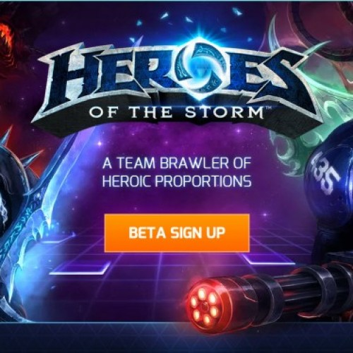 Heroes of the Storm reaches closed beta testing