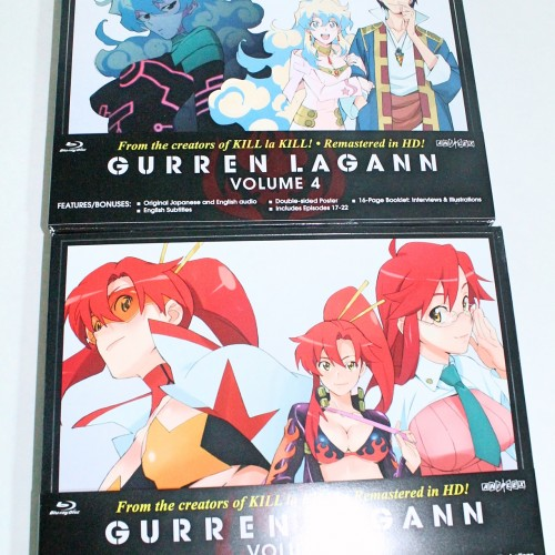 Tengen Toppa Gurren Lagann Vol. 4 & 5 (Blu-ray review)